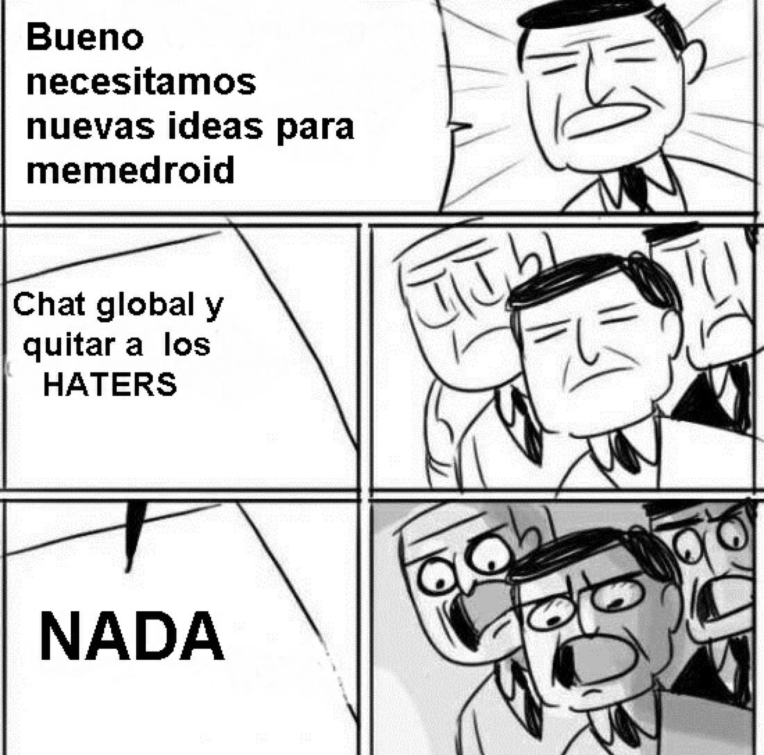 Nada! :v - meme