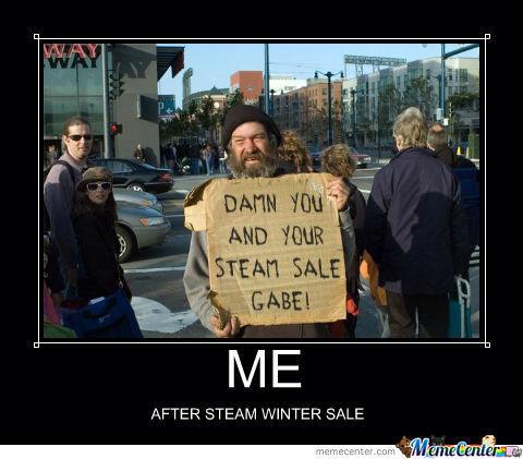 Dang Steam Sales - meme
