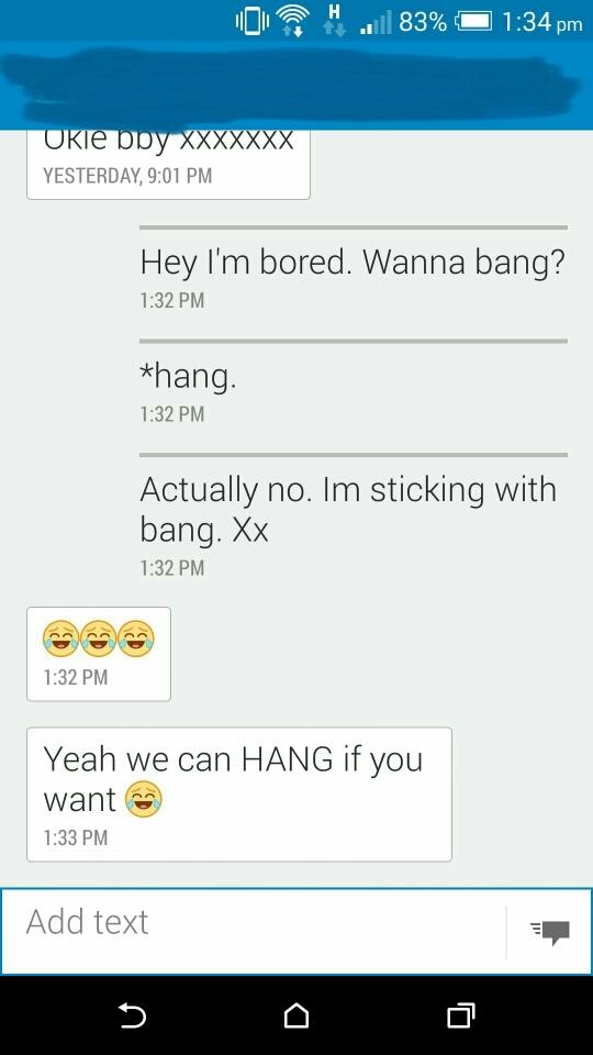 wanna hang? - meme
