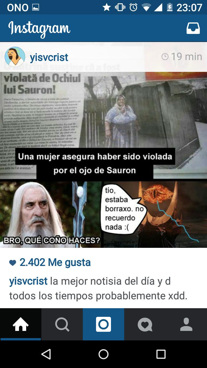 Sauron lokillo - meme