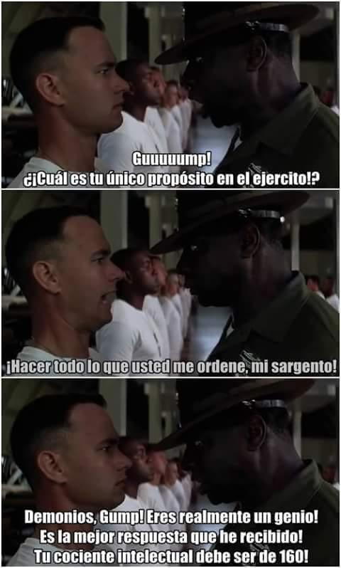 Chupa media en el ejército... - meme