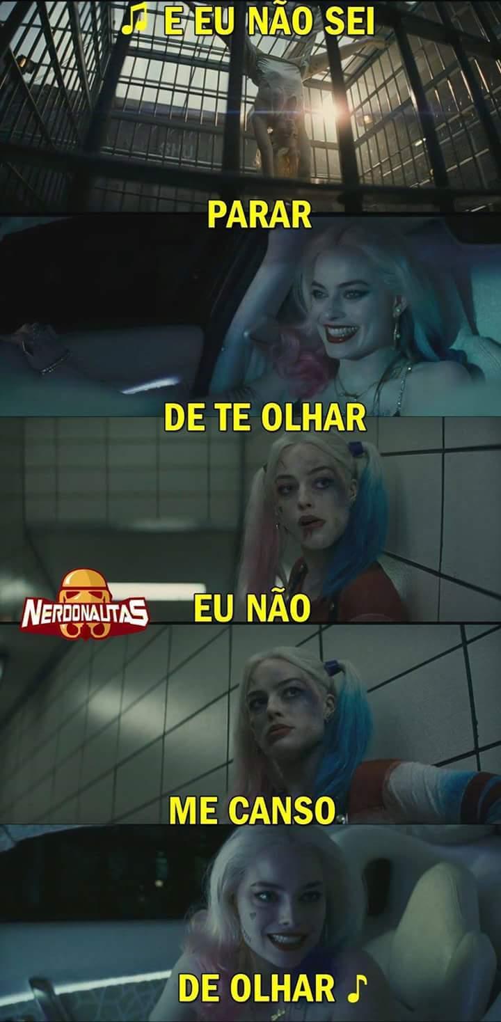 Arlequina gostosa - meme