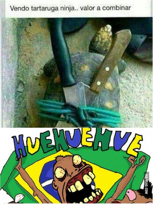 Hauehauehuaheuahuahaue - meme