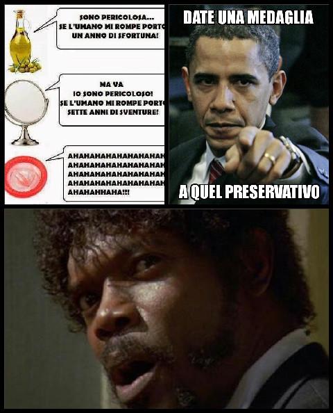 Preservativo cattivo - meme