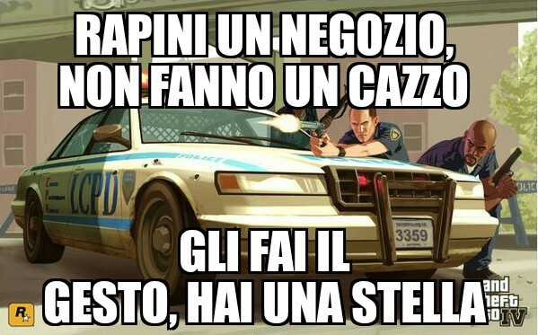 Gta cop logic - meme