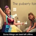 The puberty fairy