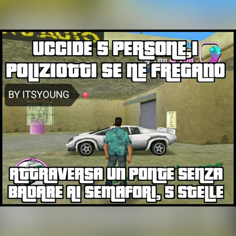 Logica di GTA - meme