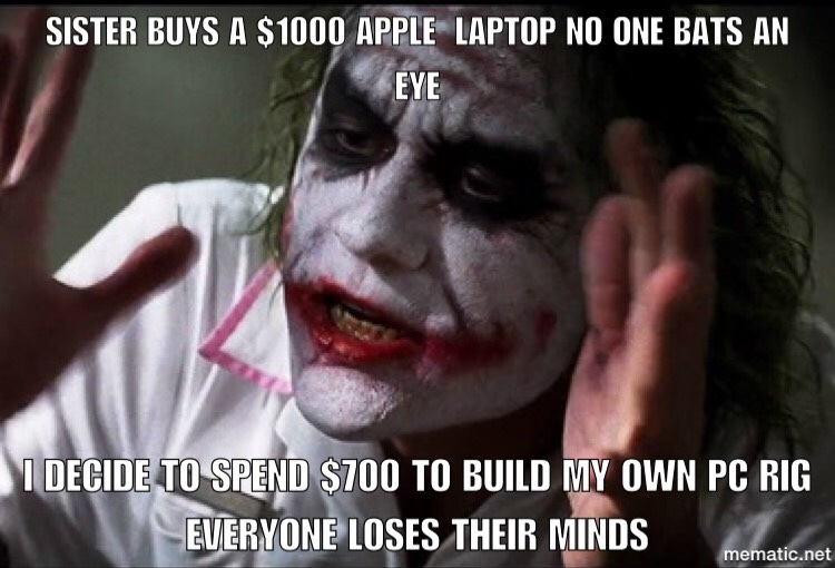 why everybody mad - meme