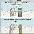 "Morgan ""voces locas"" Freeman"