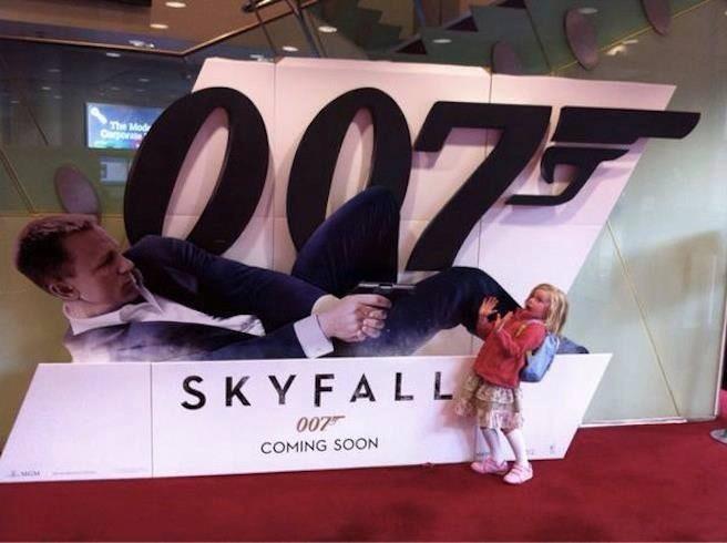 Wooow Bond, chill. - meme