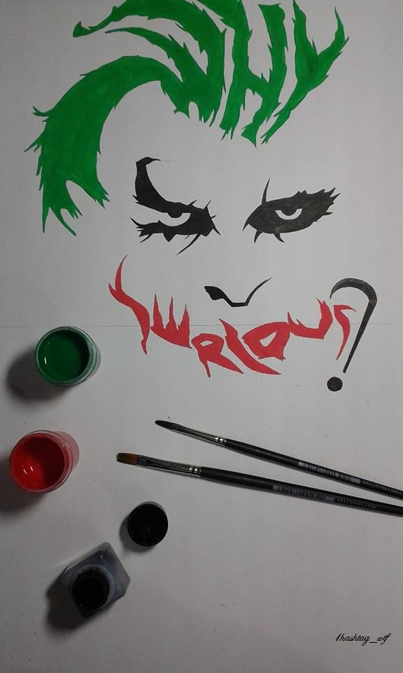 Why so serious? - meme