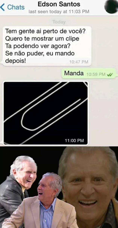 Clipe - meme
