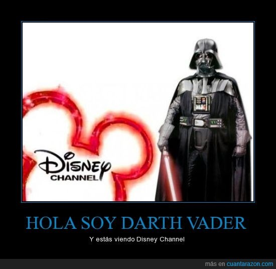 Hola soy Dar Vader - meme