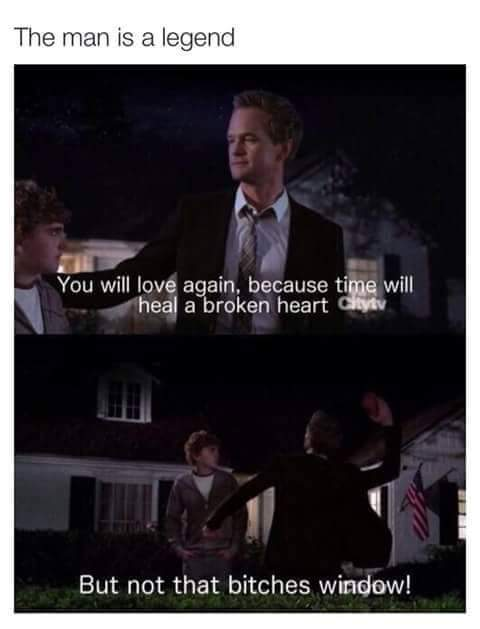 I love Barney. - meme