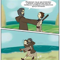 Ah les cours de jedi de Master Yoda