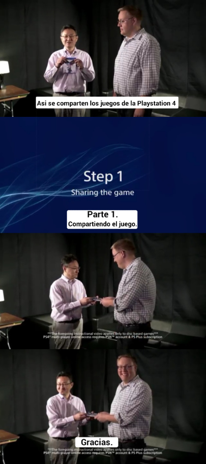 Playstation 4 - meme