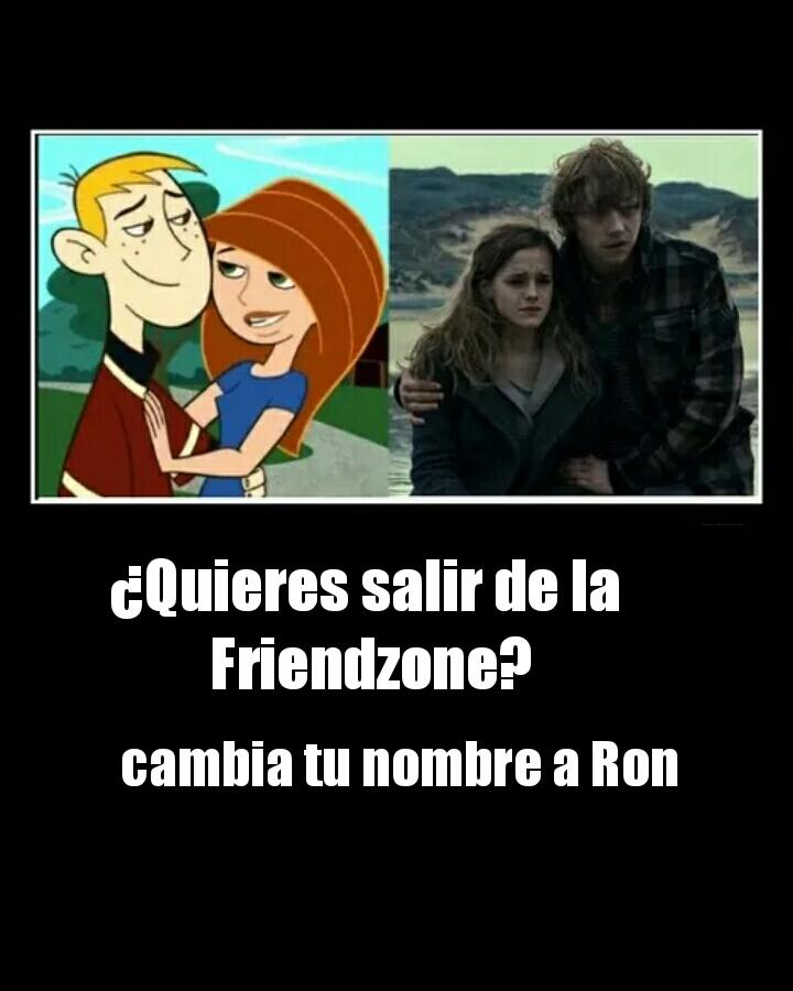 Despues todos se llaman Ron :v - meme