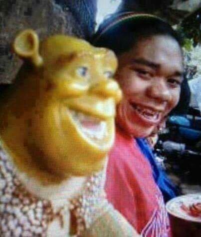 Shrek is real.. somewhere in amazon jungle - meme