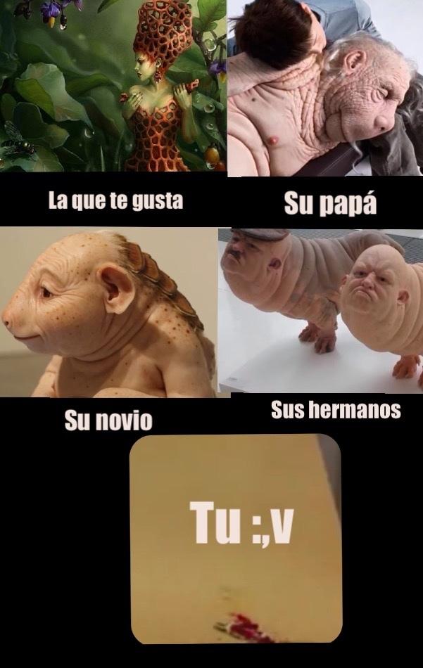 homunculos :,v - meme