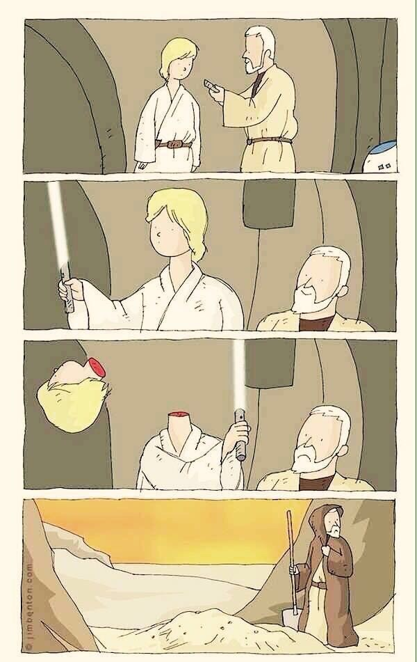 Star wars fail. - meme