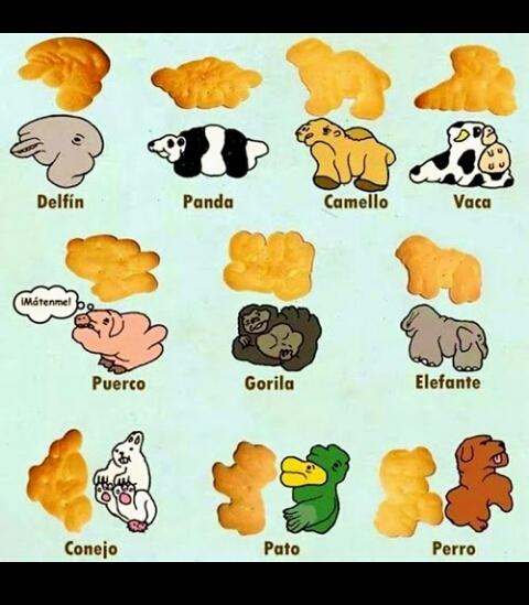 el origen de las galletas de animalitos - meme