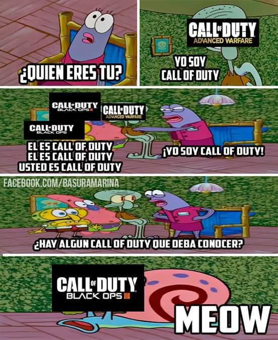 Algun otro call of duty? - meme