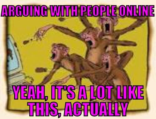 Internet Arguing - meme