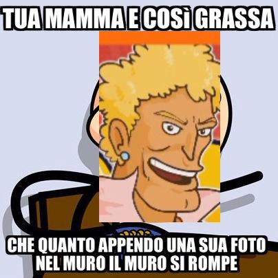 Tua mamma - meme