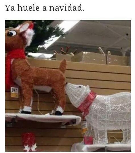Ya huele a navidad - meme