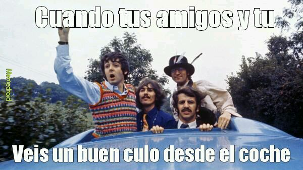 The beatles los mejores - meme