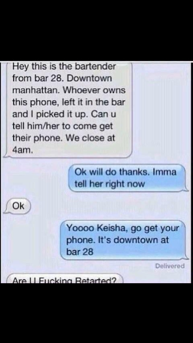 smart guy helps out Keisha - meme
