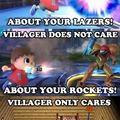 Villager don't care