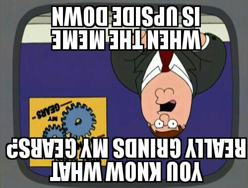 Oh the iron e - meme