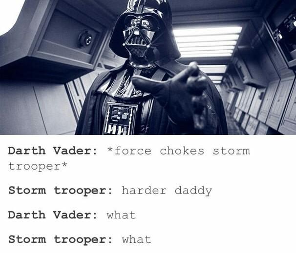Darth daddy - meme