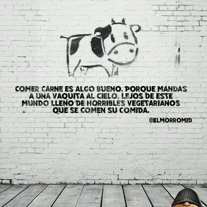 Pobres vacas - meme
