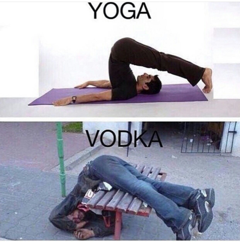 Beber tbm é exercício - meme