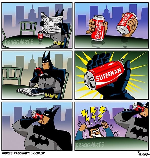 Quand Batman s'en fout - meme
