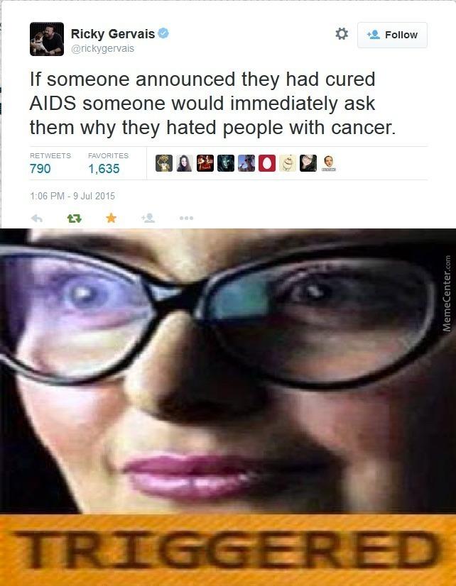 I hope yall ain't triggered - meme