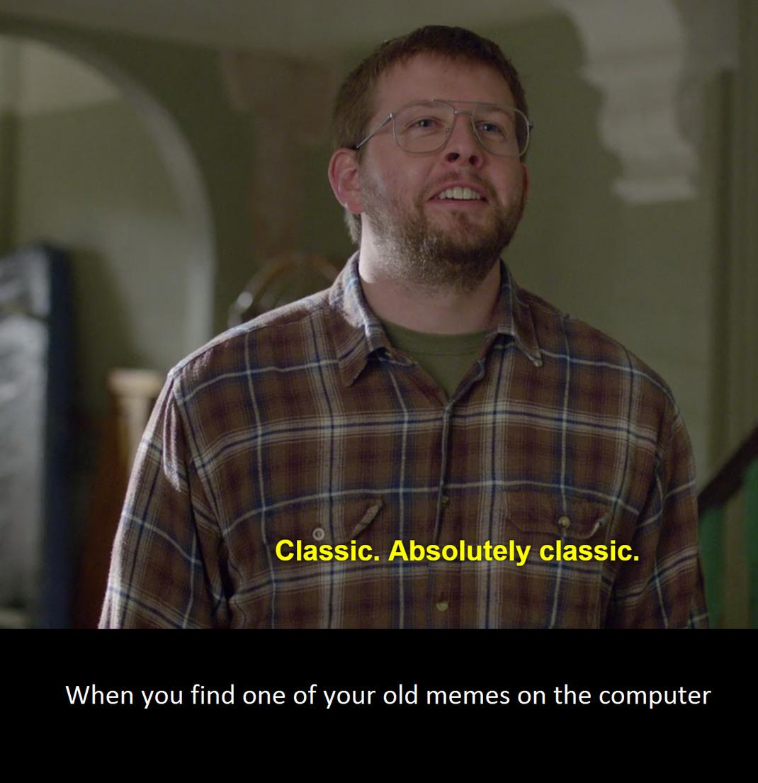Old memories - meme