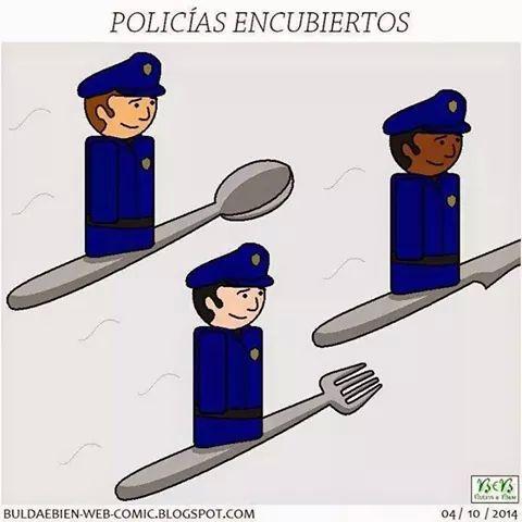 Policias encubiertos - meme