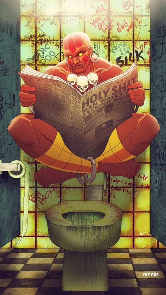 Pratique pour les toilette publique - meme