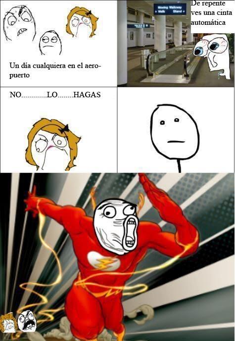 I'm Flash - meme