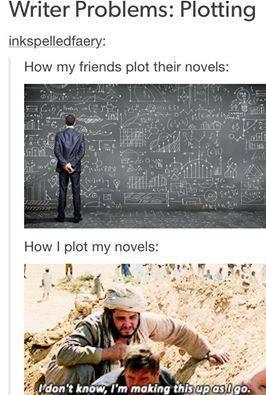 Plot? What plot? - meme