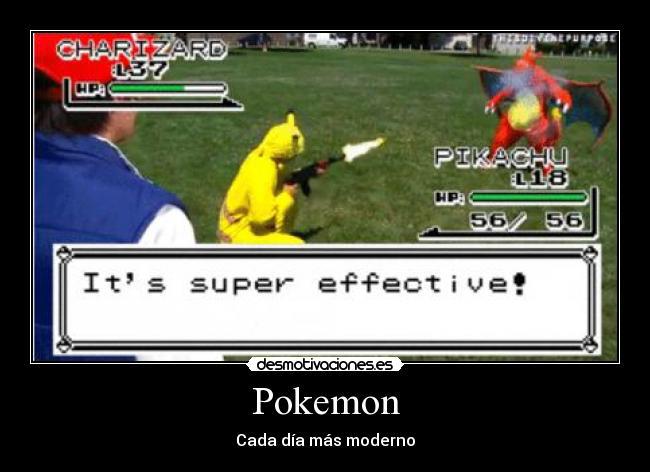 Pokemon real - meme