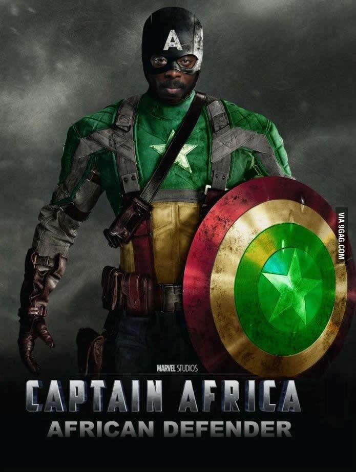 Captain africa - meme