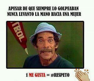 #respeto - meme