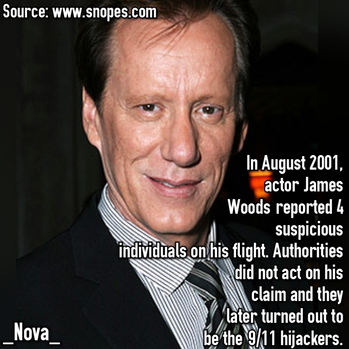 Does James Woods have woods in his house? - meme