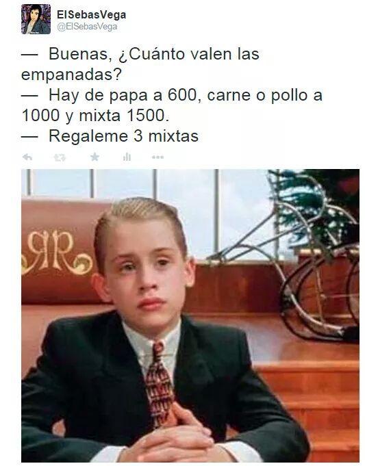 Empanadas a $100000000$ - meme