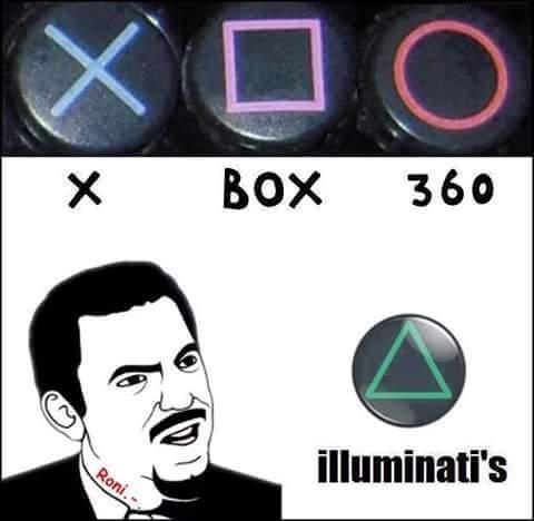 Illuminati ( ͡• ͜ʖ ͡•) - meme