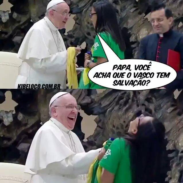 Papa zueiro - meme